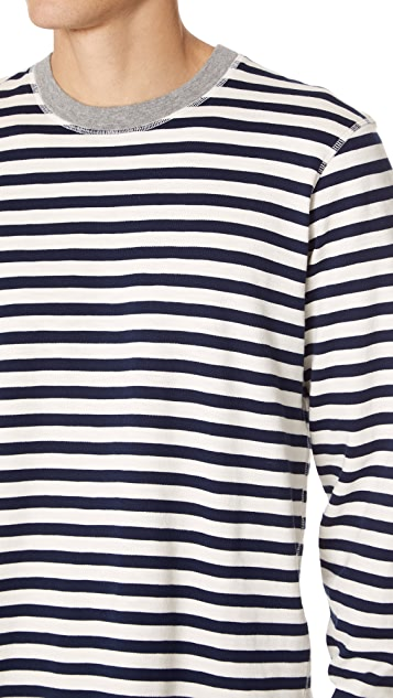 Sleepy Jones Stripe Pajama Shirt