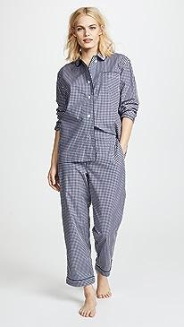 03d2c0e00586 Gingham Marina Pajama Pants.  128.00  128.00  128.00. 12560 like it. Sleepy  Jones