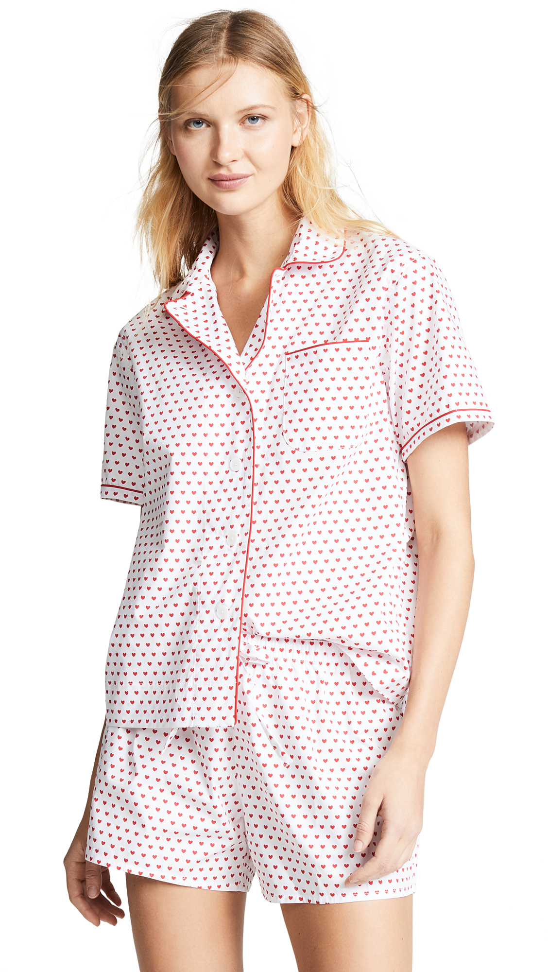 Sleepy Jones Corita Short Sleeve Pajama Shirt