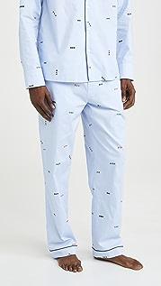 Sleepy Jones Marcel Pajama Pants