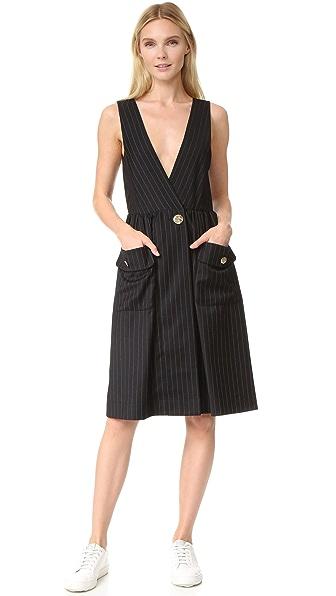 SJYP Pinstripe Dress