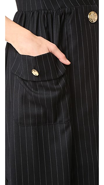 SJYP Pinstripe Dress