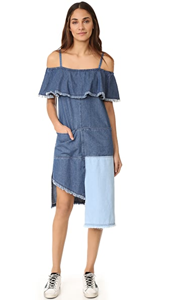 SJYP Multi Denim Dress
