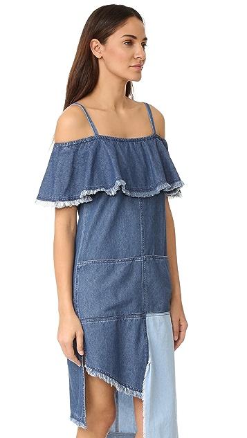 SJYP Multi Denim Dress