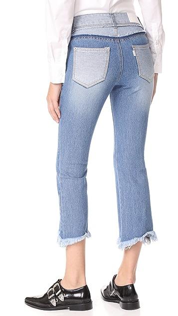 SJYP Cutoff Jeans