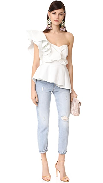 STYLEKEEPERS So Long Lover Ruffled Top
