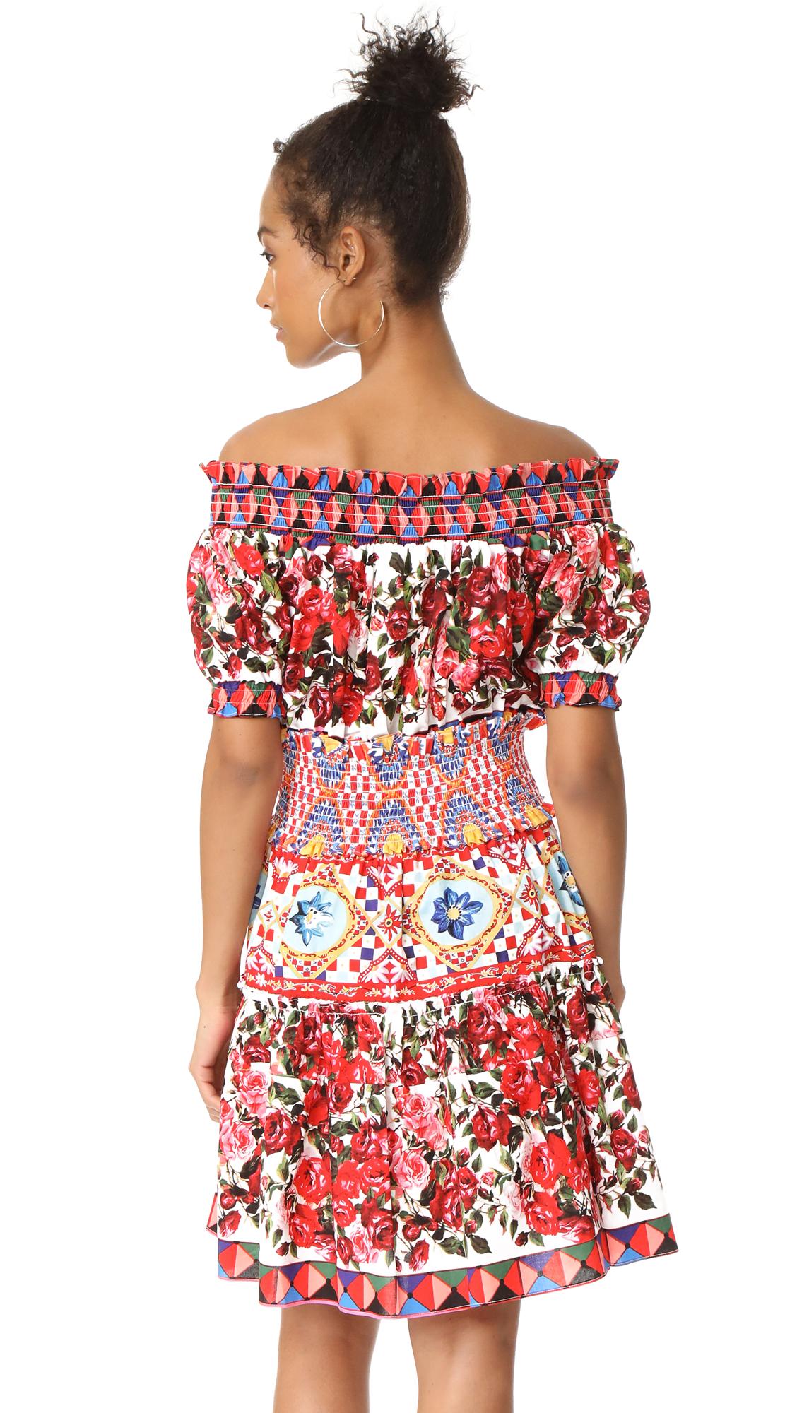 8d6319683ee0 STYLEKEEPERS Wild Flowers Off Shoulder Dress