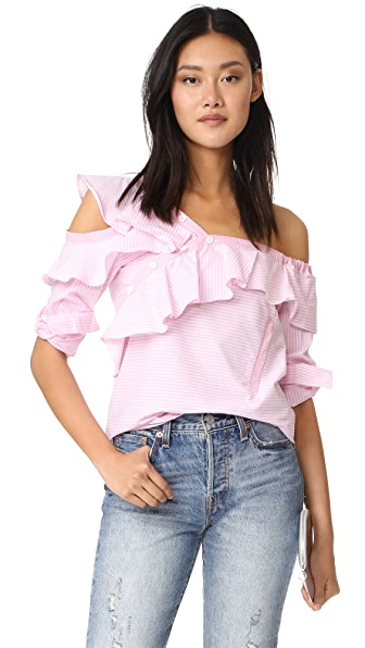 STYLEKEEPERS Look of Love Top In Pink