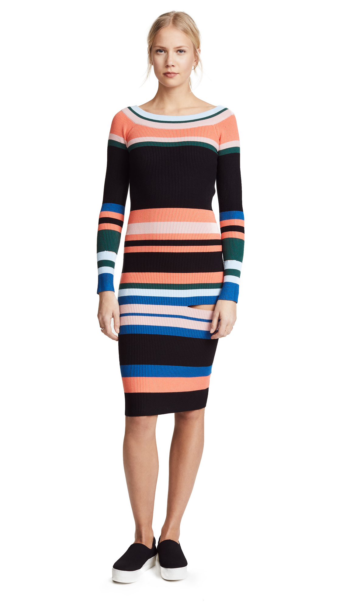 STYLEKEEPERS Matisse Knit Dress - Multi Stripe