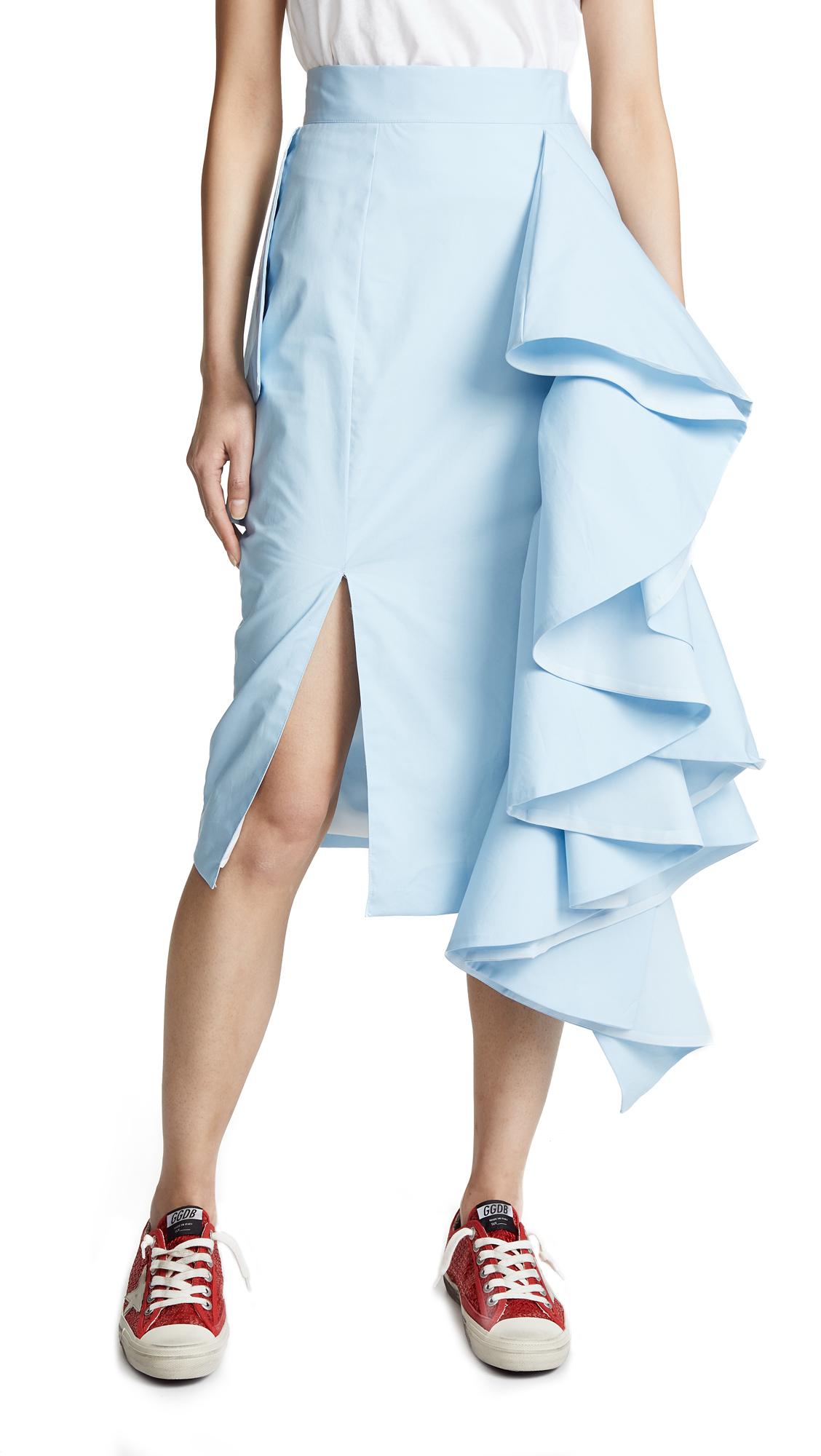 STYLEKEEPERS Love Affair Skirt in Sky Blue