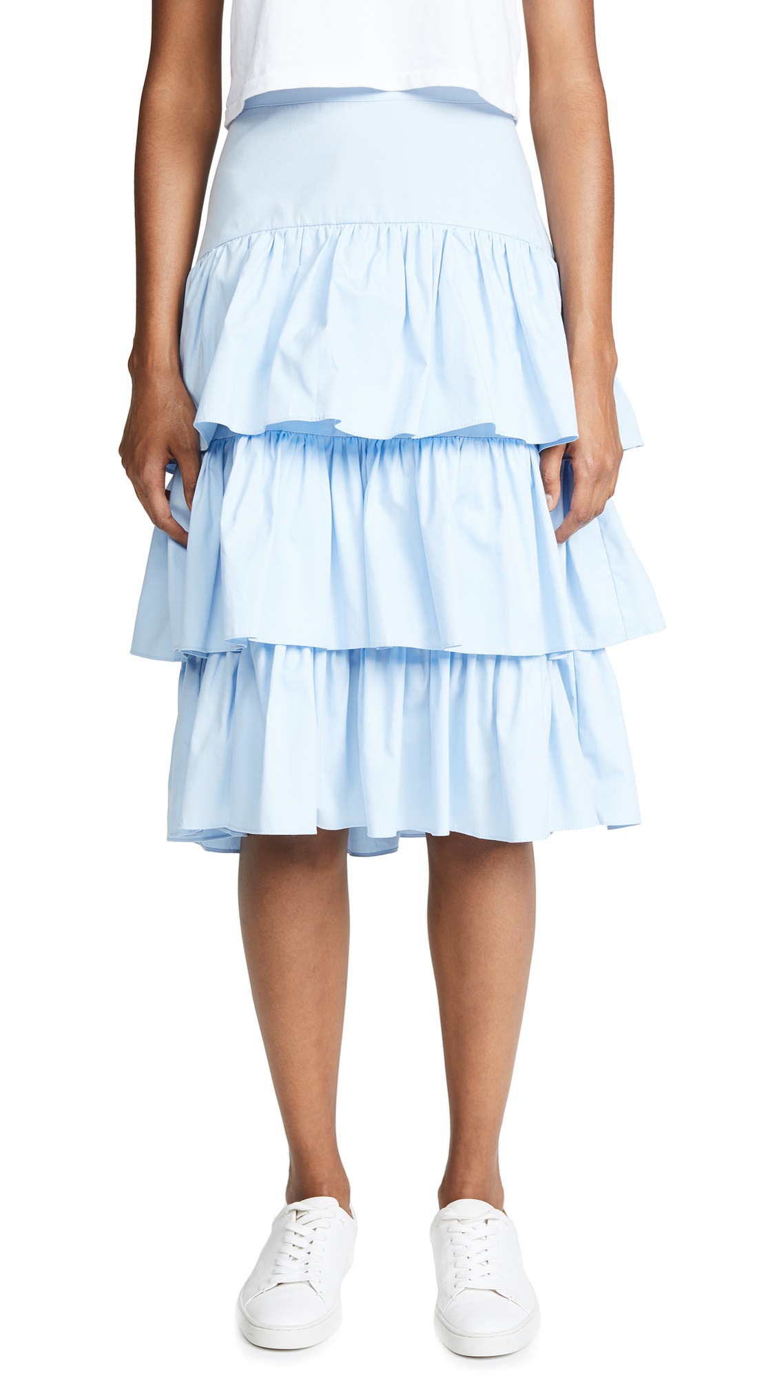 STYLEKEEPERS Holiday Skirt in Sky Blue