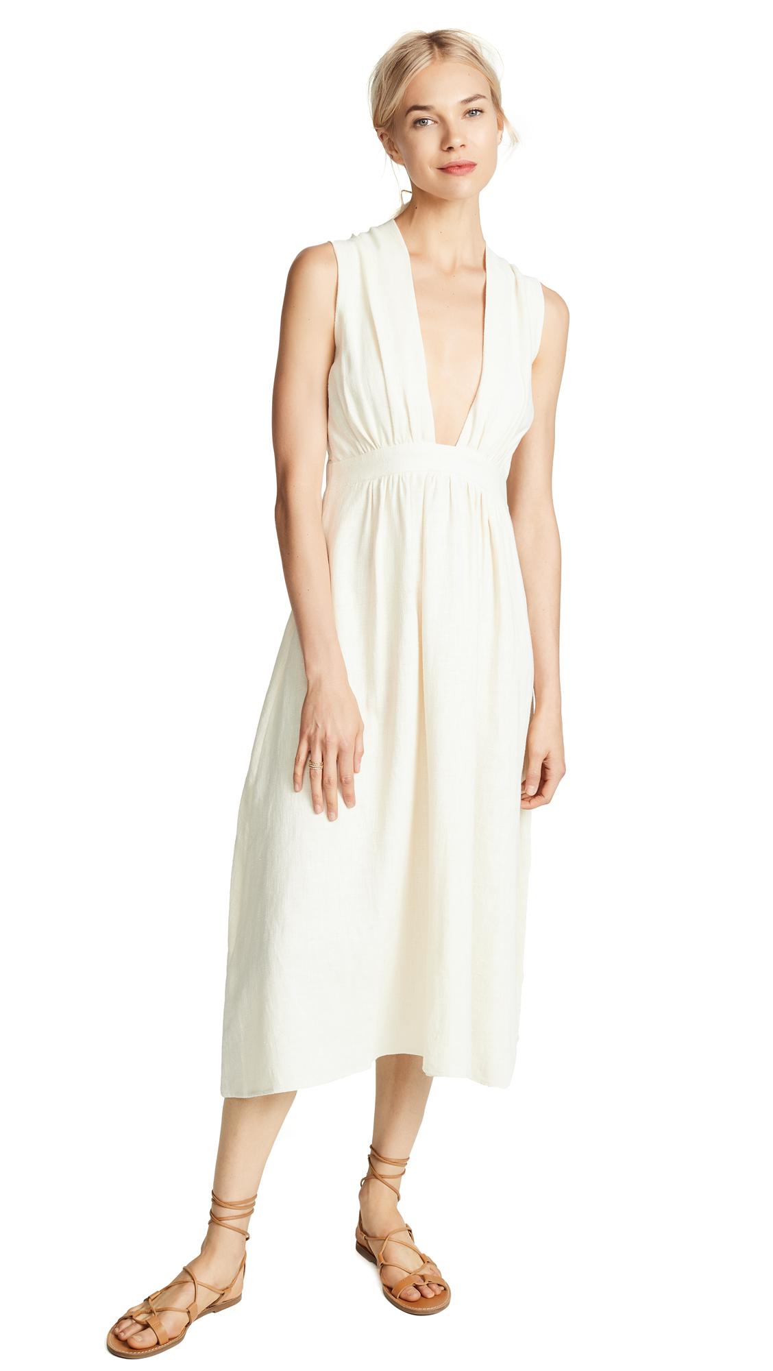 STYLEKEEPERS Kamari Dress in Creamy Beige