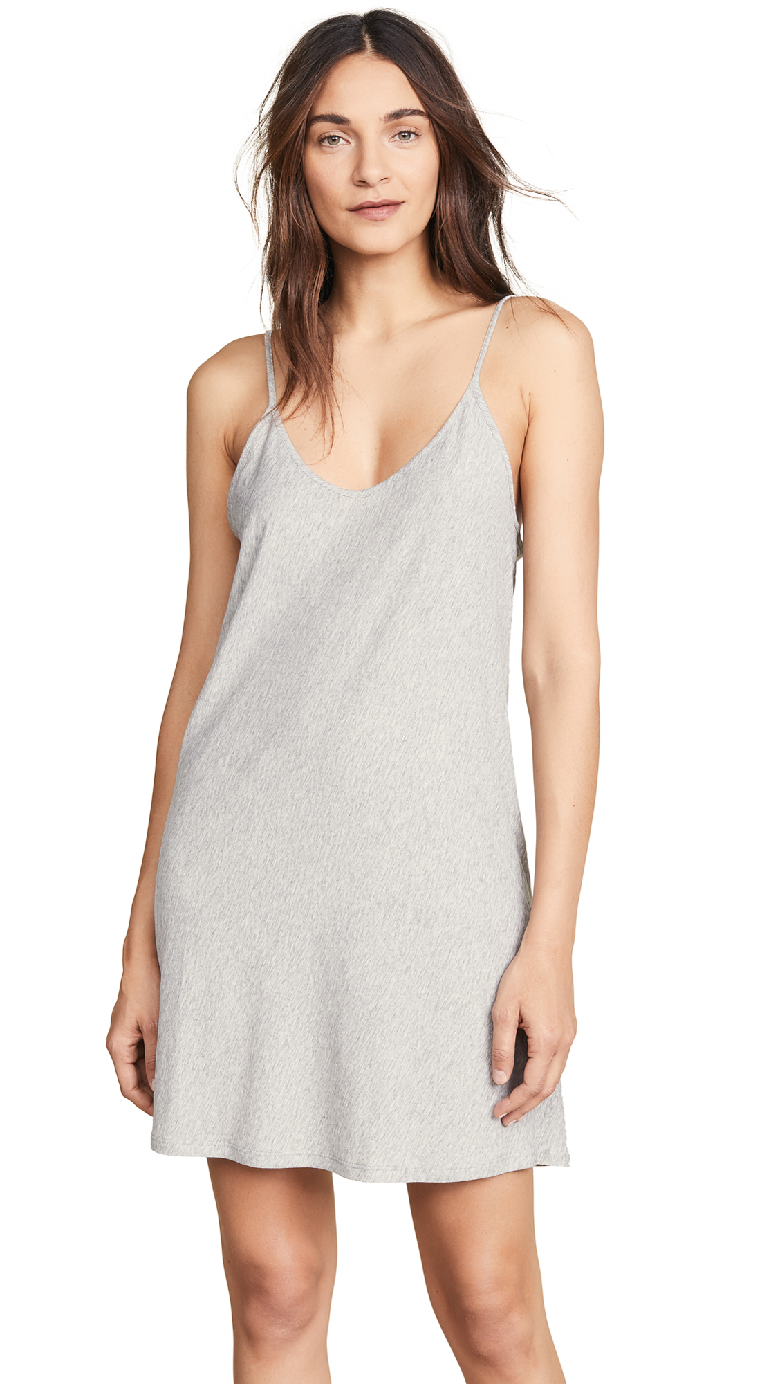 Skin Sexy Slip In Heather Grey