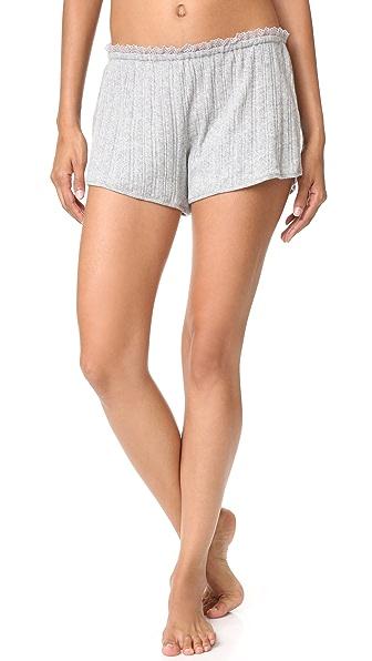 Skin Rib Shorts