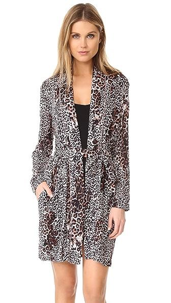Skin Leopard Robe