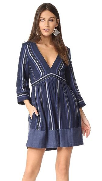 Skin Zayna Dress - Multi Stripe