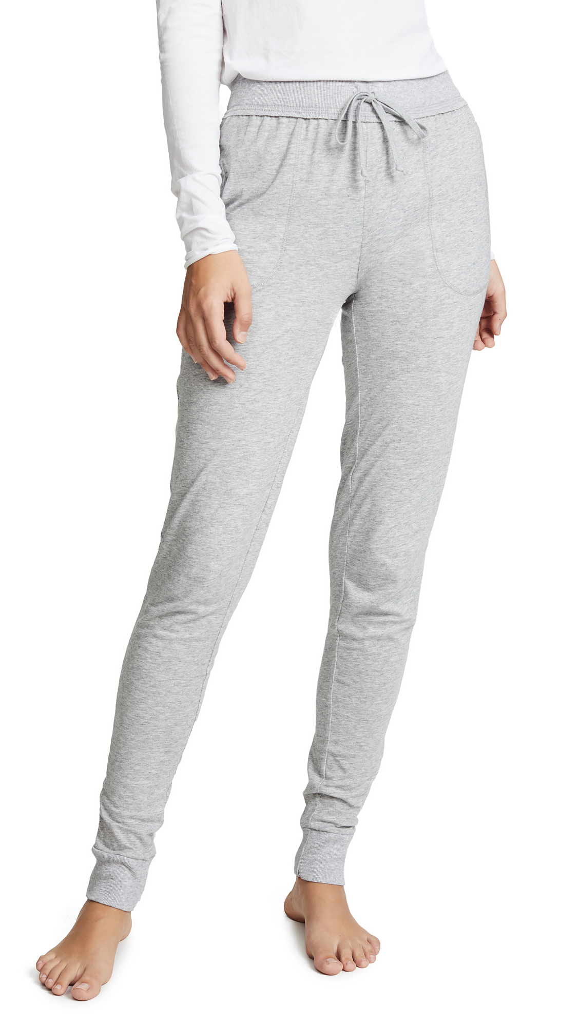 Skin Skinny Pants In Heather Grey