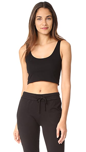 Skin Clio Crop Top In Black