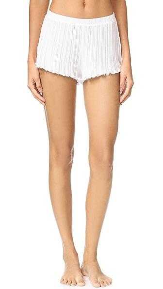 Skin Vera Shorts In White