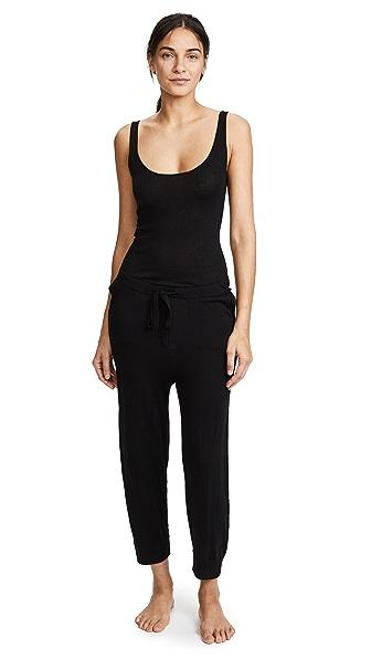 Skin Monet Sleep Jumpsuit In Black