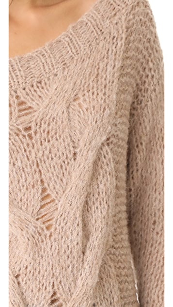 Skin Roselyn Alpaca Sweater