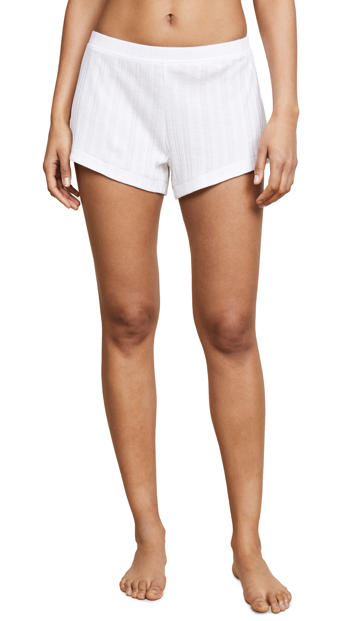 Skin Rooney Shorts In White