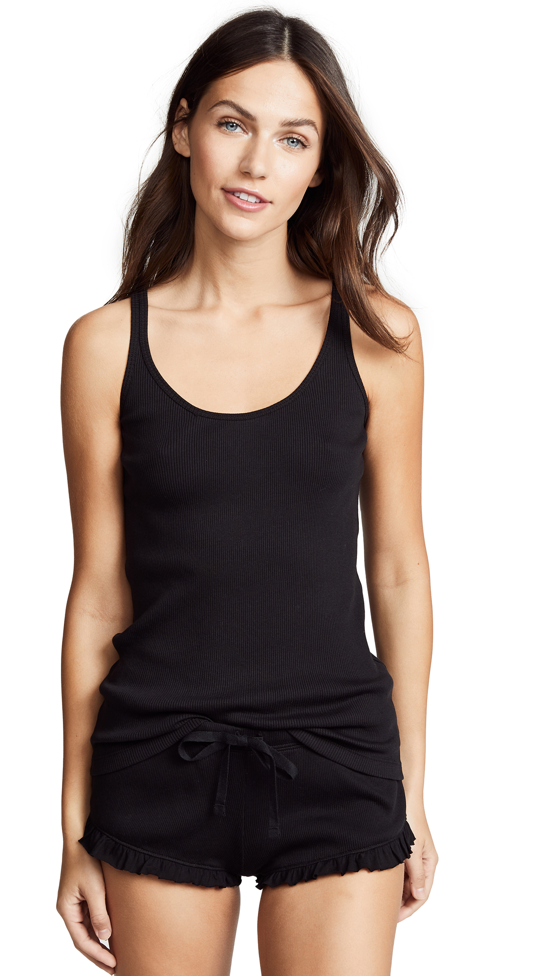 Skin Raisa Tank Top In Black