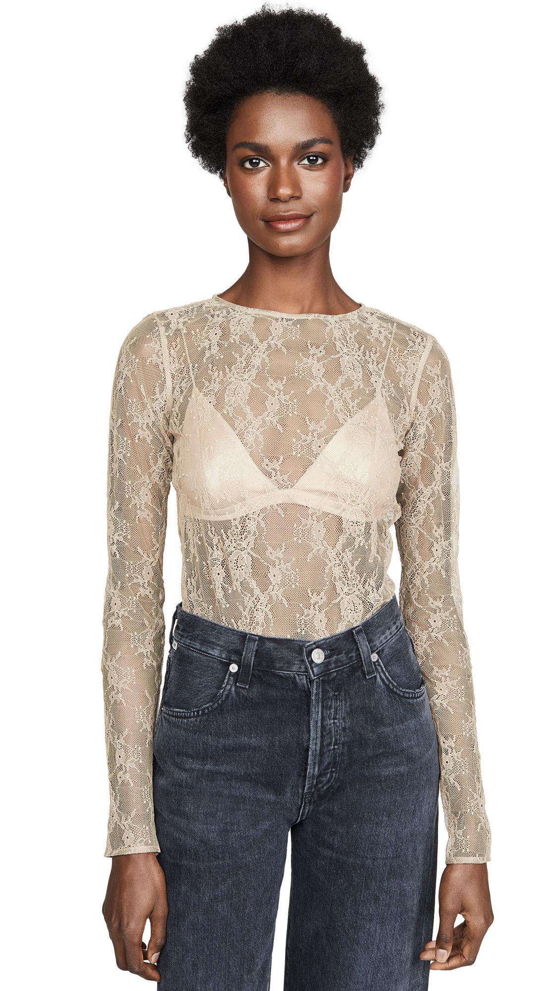 Buy Skin online - photo of Skin Sabrina Lace Bodysuit