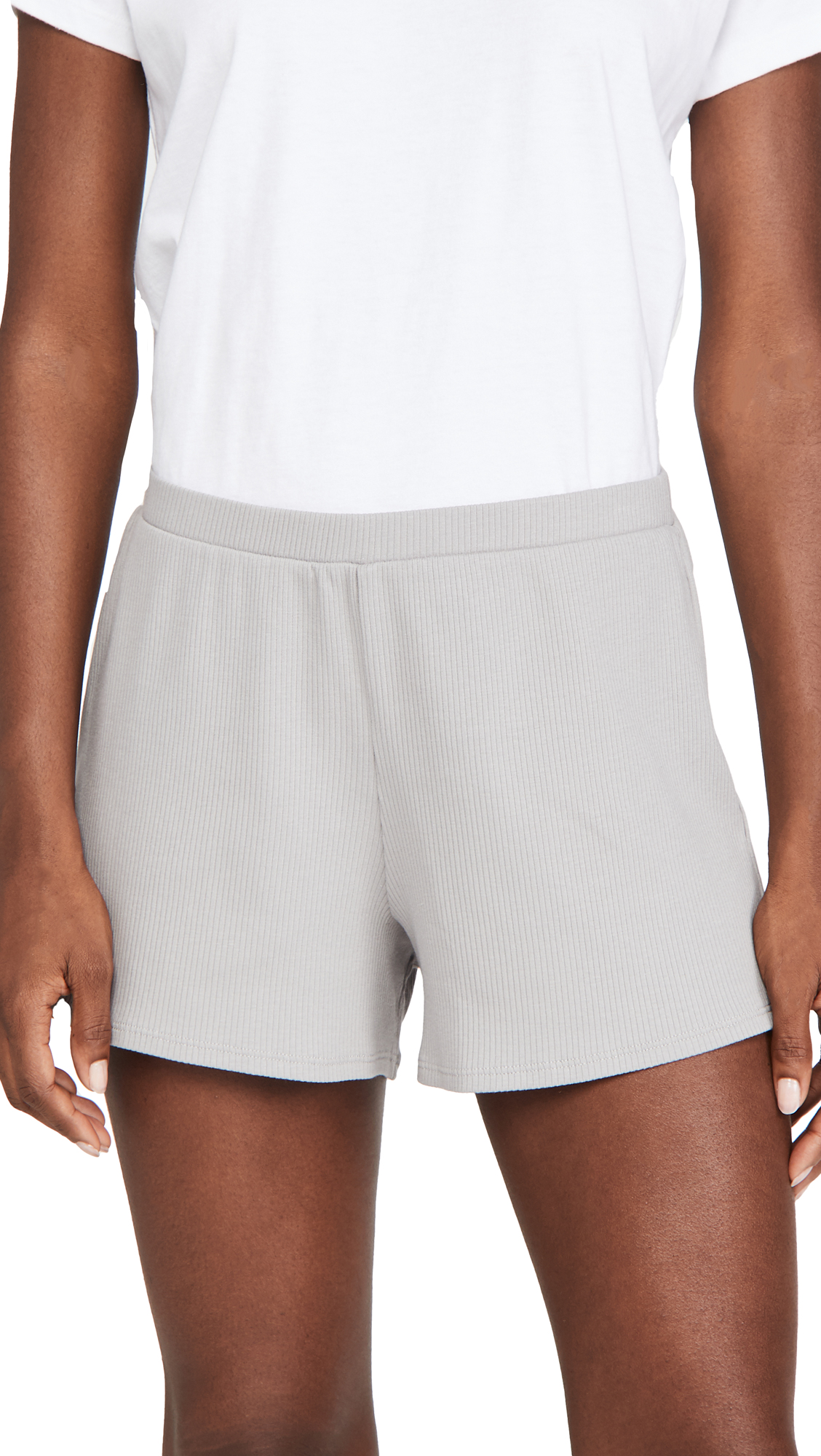 Skin Indigo Shortie Shorts