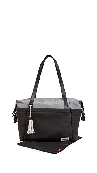 Skip Hop Nolita Diaper Tote In Black/Grey