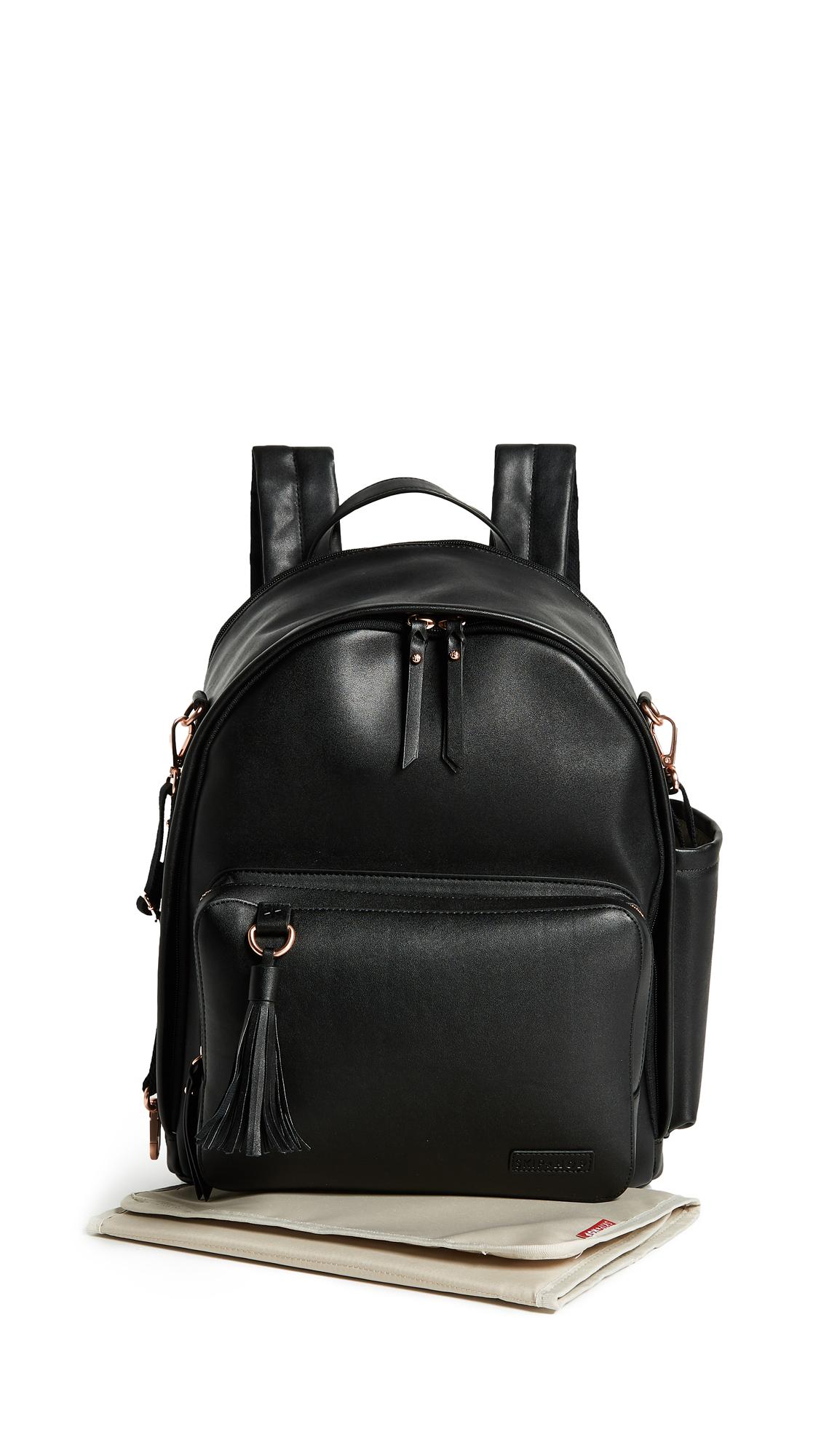 Skip Hop Greenwich Simply Chic Diaper Backpack - Black