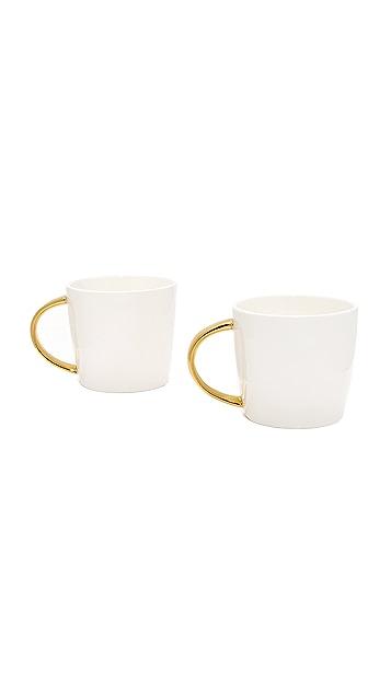 Slant Collections Mr. & Mrs. Coffee Mug Set