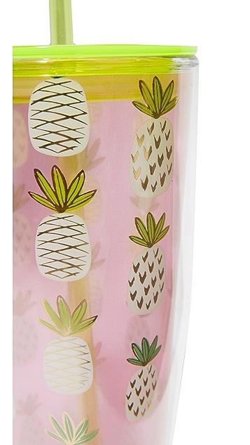 Slant Collections Pineapple Grayson Tumbler
