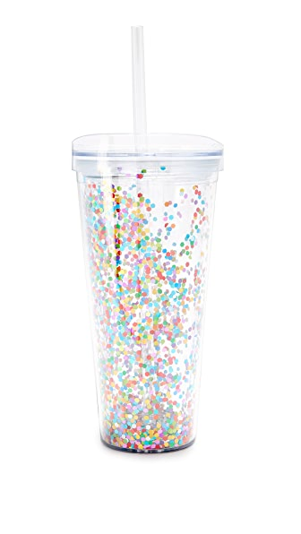 Slant Collections Confetti Tumbler