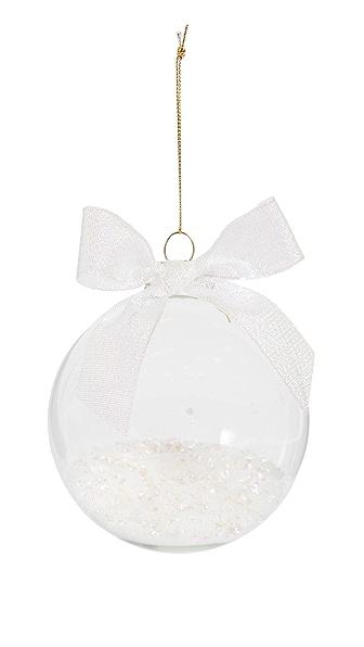Slant Collections Confetti Glass Ornament In Iridescent