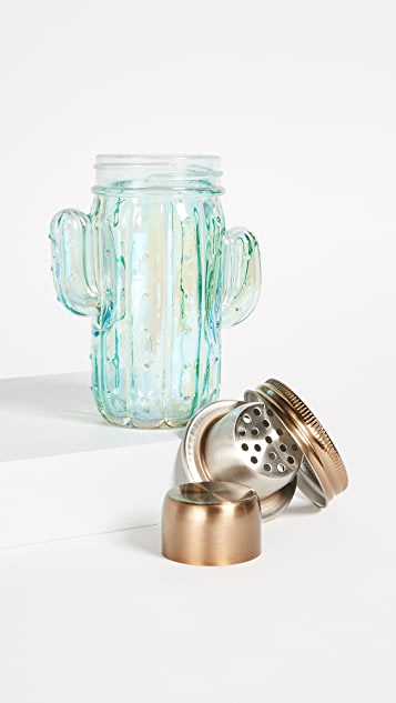 Slant Collections Cactus Cocktail Shaker