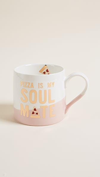 Slant Collections Pizza Is My Soulmate Jumbo Mug