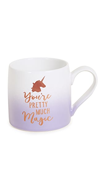 Slant Collections You're Pretty Much Magic Jumbo Mug In Rose Gold