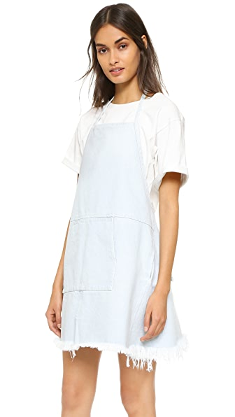Sandy Liang Ella Apron Dress