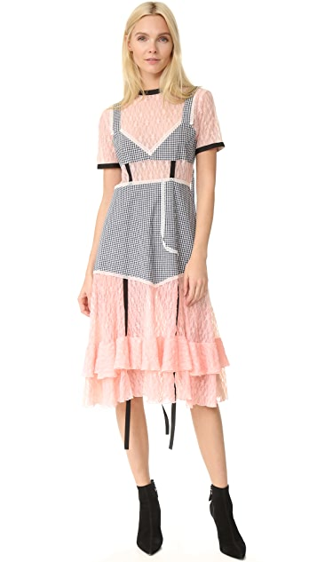 Sandy Liang Accord Dress