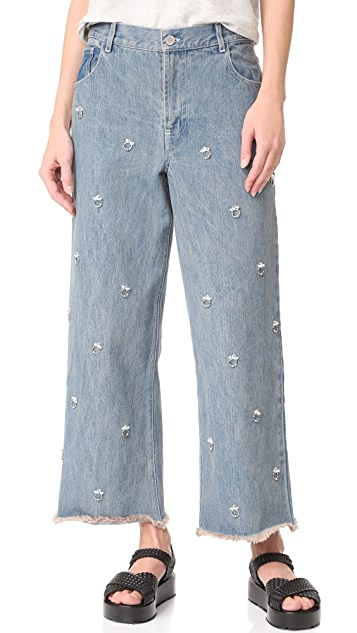 Sandy Liang Ghost Jeans