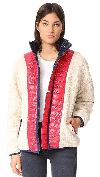 Sandy Liang Chambers Sherpa Jacket - Fleecy