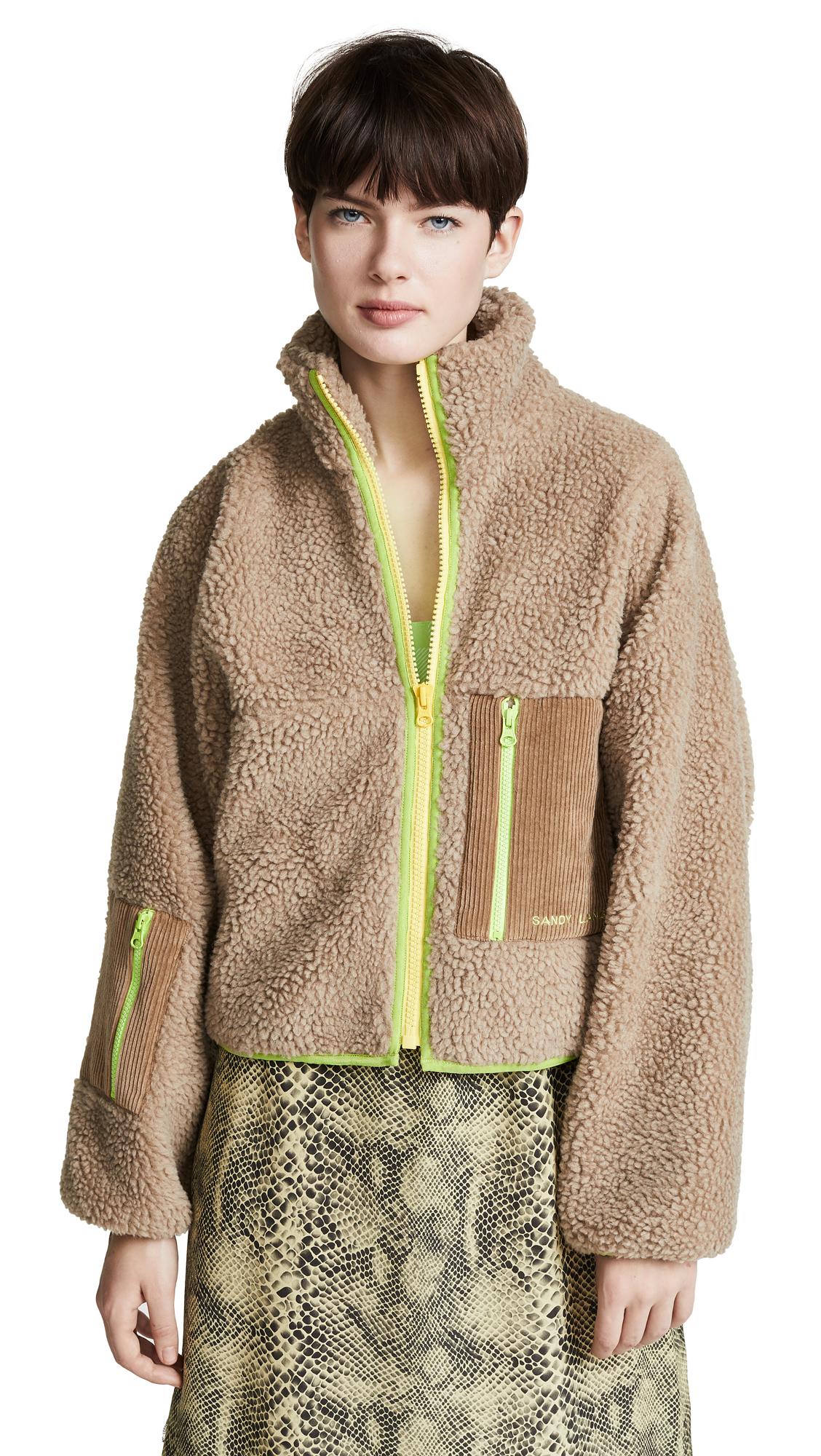 Dw Fleece Jacket in Teddy