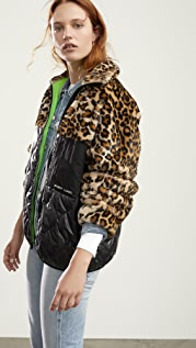 Sandy Liang Dean Fleece Jacket
