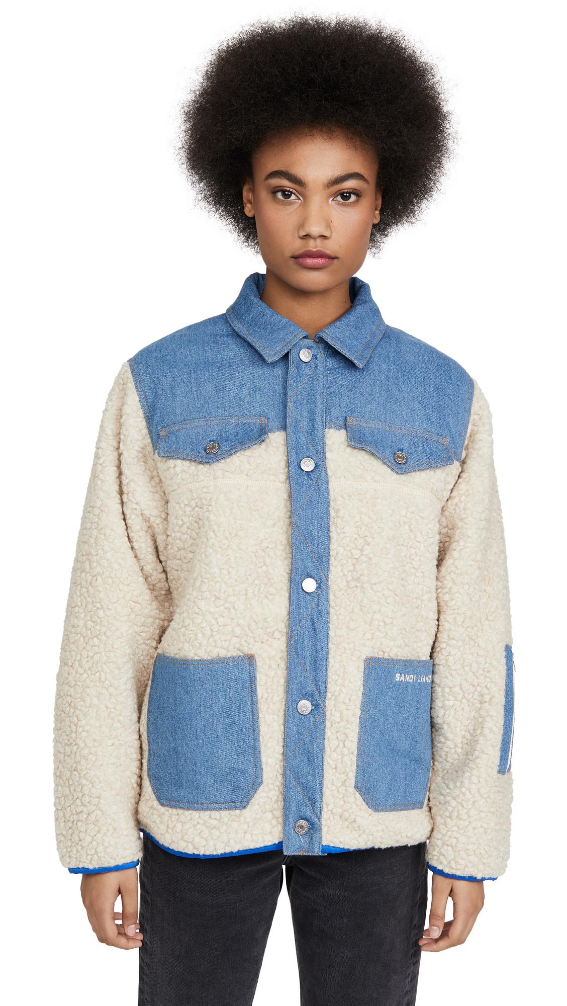 Buy Sandy Liang online - photo of Sandy Liang Dorne Fleece Jacket
