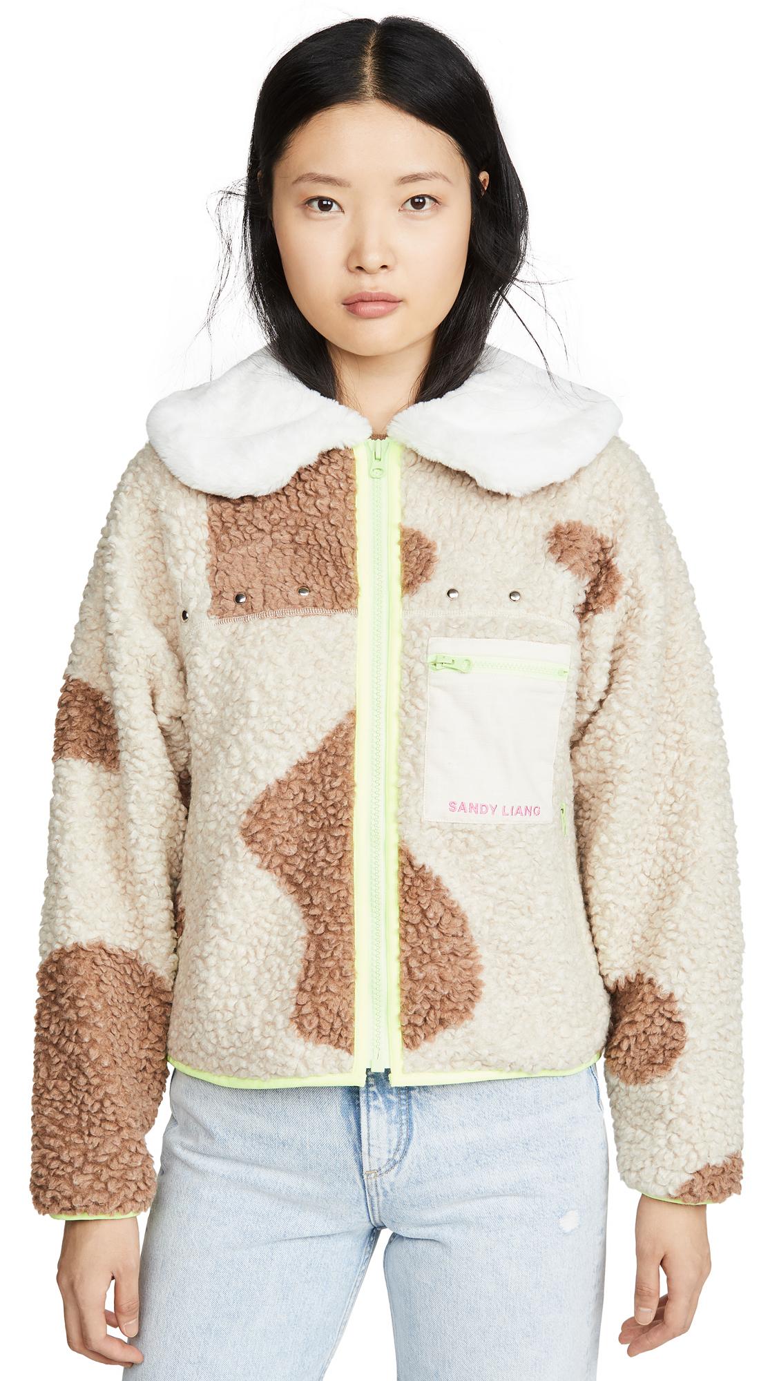 Buy Sandy Liang online - photo of Sandy Liang Bells Fleece