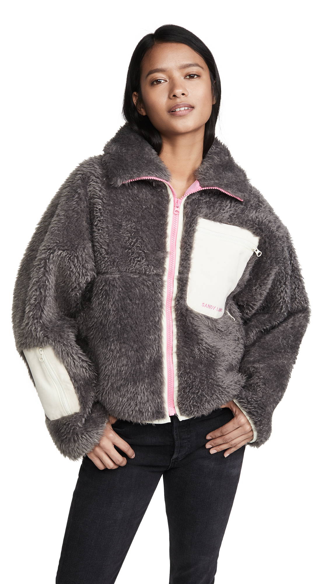Buy Sandy Liang online - photo of Sandy Liang Fred Fleece