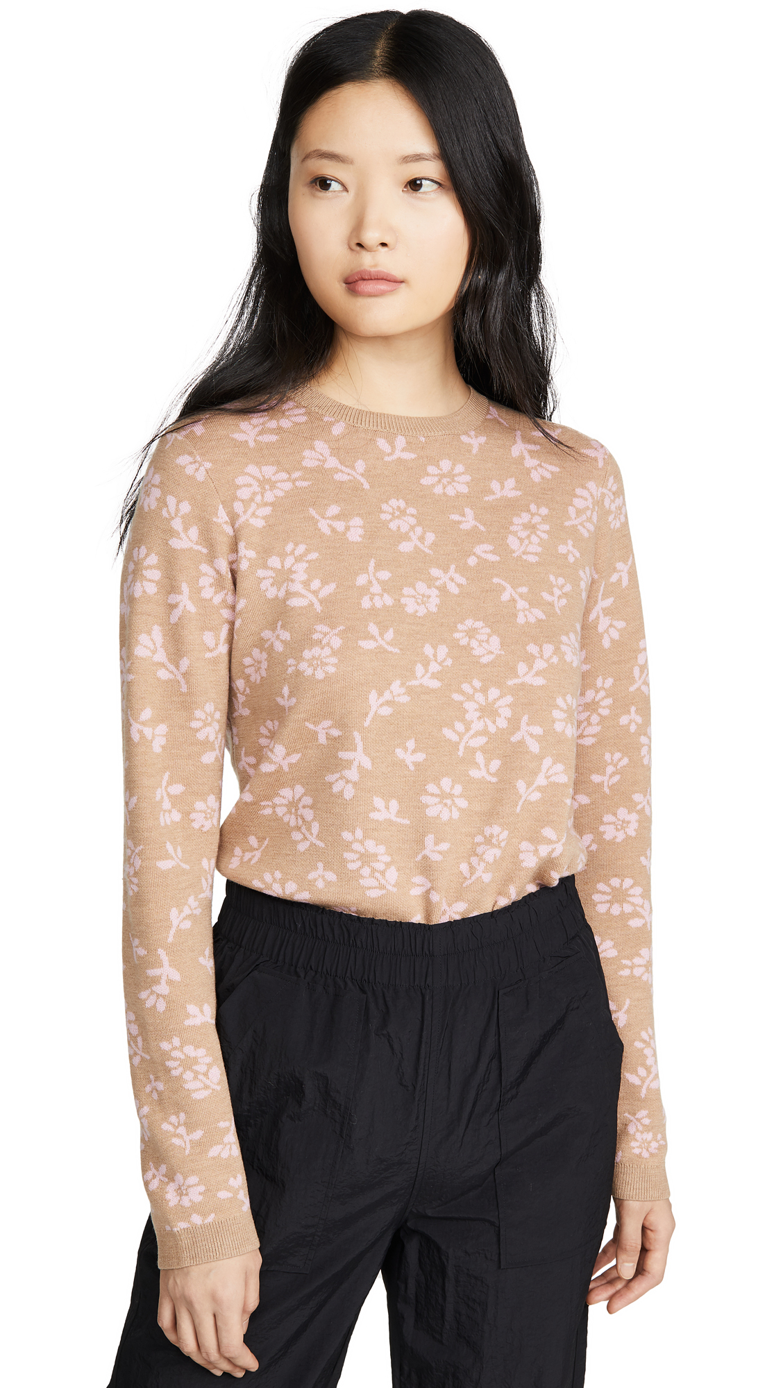 Buy Sandy Liang online - photo of Sandy Liang Floral Sweater
