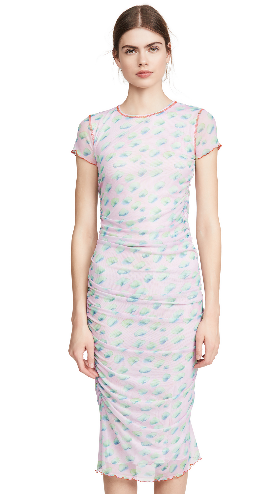 Photo of Sandy Liang Cubes Dress - shop Sandy Liang Clothing, Dresses online