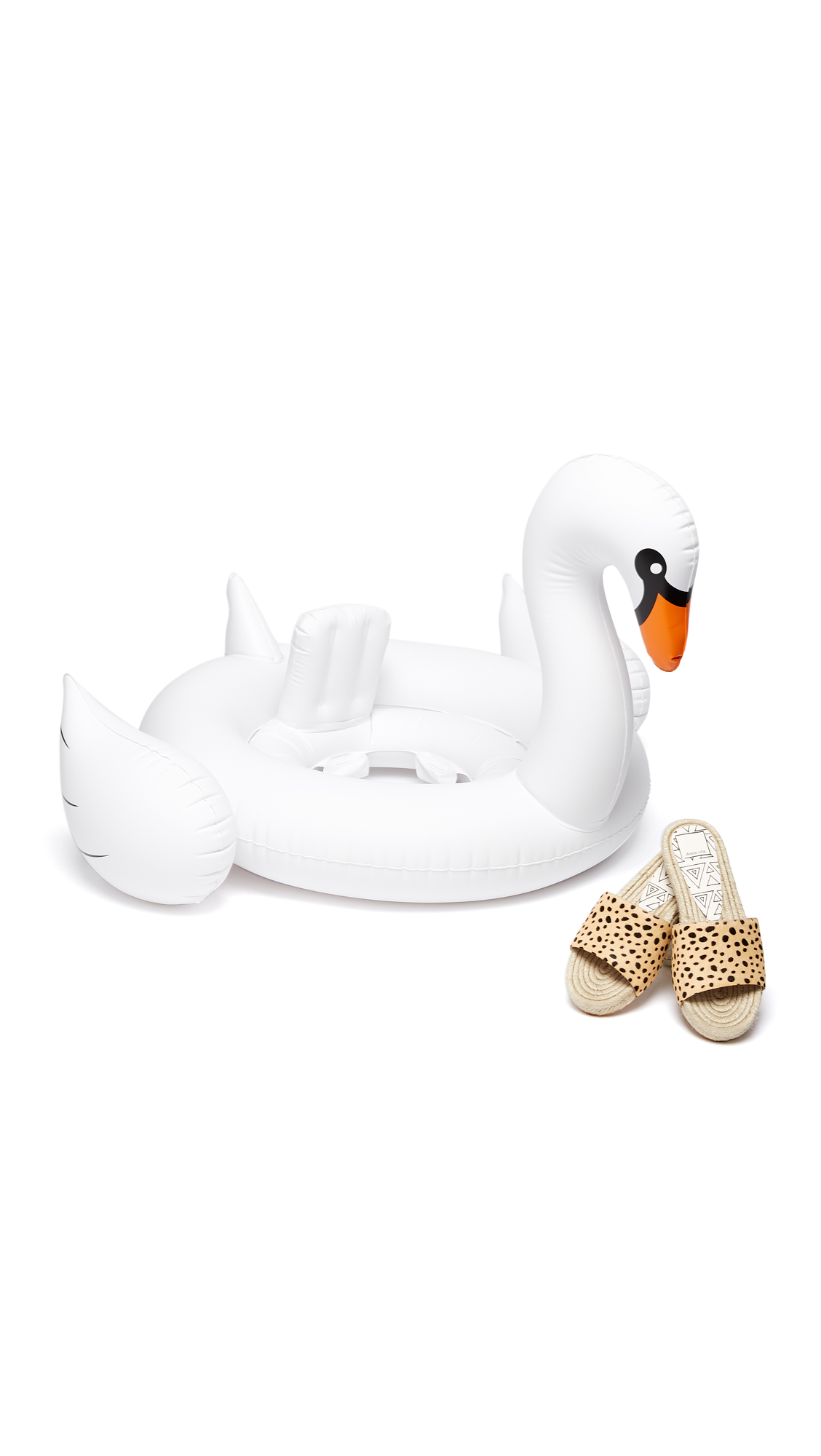 sunnylife baby inflatable swan shopbop